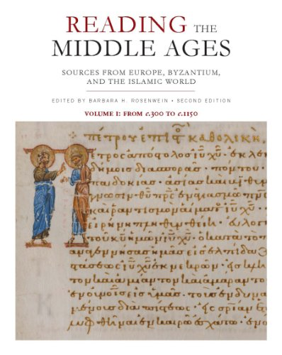 9781442608221: Reading the Middle Ages, Volume I: Sources from Europe, Byzantium, and the Islamic World, c.300 to c.1150, Second Edition