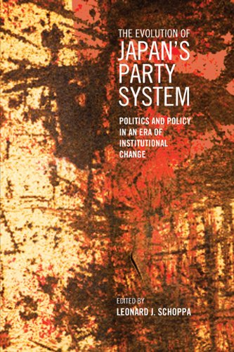 9781442611672: The Evolution of Japan's Party System: Politics and Policy in an Era of Institutional Change (Japan and Global Society)