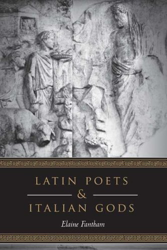 Latin Poets and Italian Gods (Robson Classical Lectures) (1442640596) by Fantham, Elaine