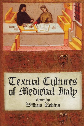 9781442642720: Textual Cultures of Medieval Italy (Conference on Editorial Problems)