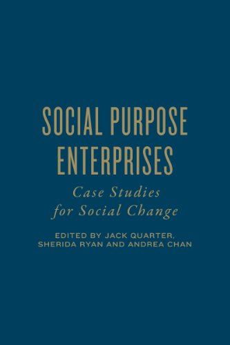 Social Purpose Enterprises: Case Studies for Social Change (Hardback)
