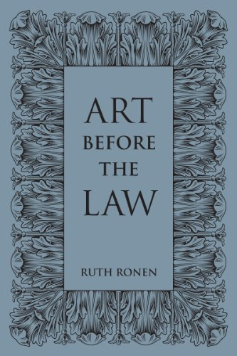 Art Before the Law: Ruth Ronen