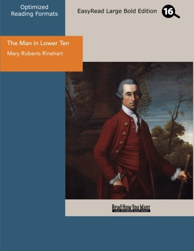 9781442912700: The Man in Lower Ten (EasyRead Large Bold Edition)