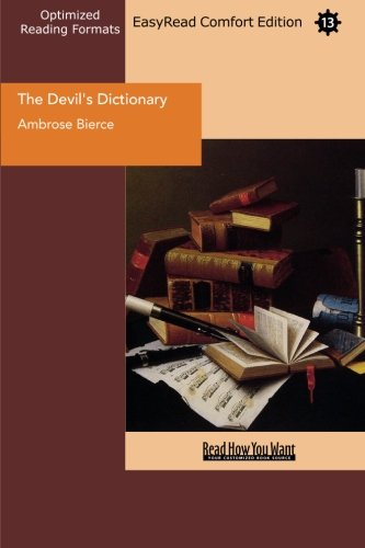 9781442923911: The Devil's Dictionary (EasyRead Comfort Edition)