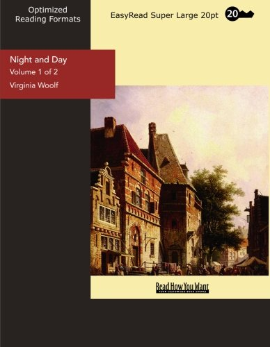 9781442934238: Night and Day (Volume 1 of 2) (EasyRead Super Large 20pt Edition)
