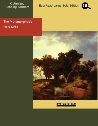 9781442934856: The Metamorphosis (EasyRead Large Bold Edition)