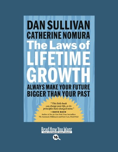 9781442952911: The Laws of Lifetime Growth (Easyread Large Bold Edition): Always Make Your Future Bigger Than Your Past