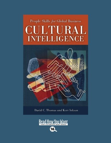 9781442953819: Cultural Intelligence (EasyRead Large Bold Edition): People Skills for Global Business