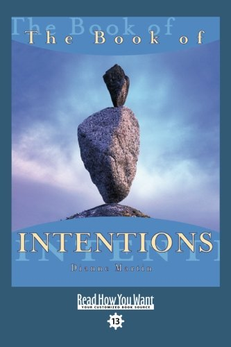 9781442954380: The Book of INTENTIONS (EasyRead Comfort Edition)