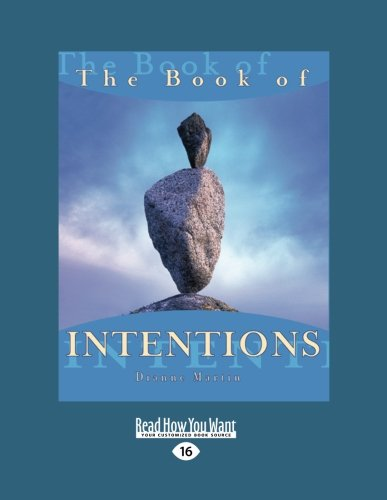 9781442954397: The Book of INTENTIONS