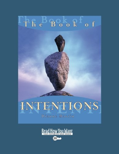 9781442954410: The Book of INTENTIONS (EasyRead Super Large 20pt Edition)