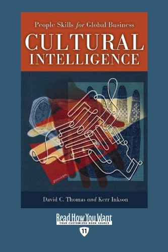 9781442955271: Cultural Intelligence (EasyRead Edition): People Skills for Global Business