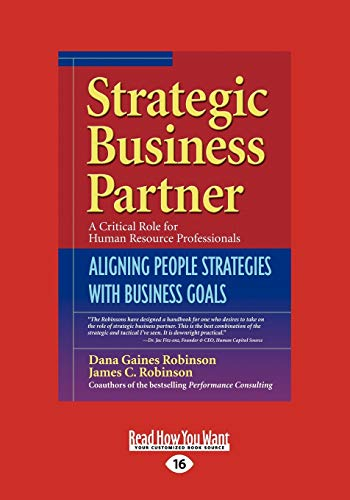 9781442956193: Strategic Business Partner: Aligning People Strategies with Business Goals