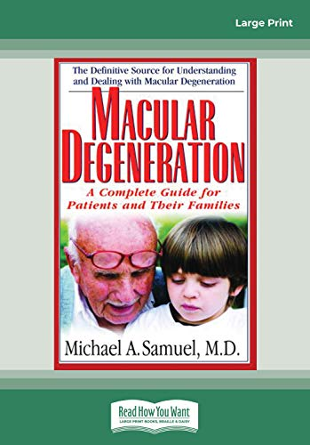 9781442956582: Macular Degeneration: A Complete Guide for Patients and Their Families