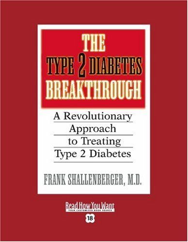 9781442957138: The Type 2 Diabetes Breakthrough (EasyRead Super Large 18pt Edition): A Revolutionary Approach to Treating Type 2 Diabetes