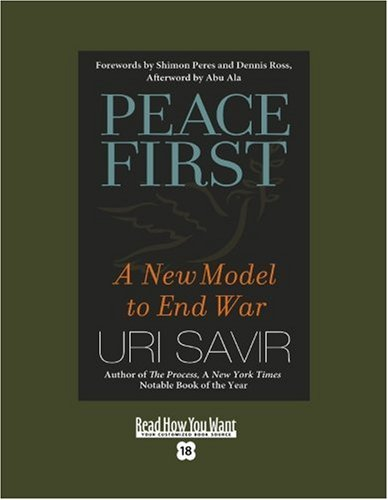 9781442960220: Peace First (EasyRead Super Large 18pt Edition): A New Model to End War