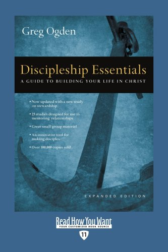 9781442960411: Discipleship Essentials (EasyRead Edition): A Guide to Building your Life in Christ