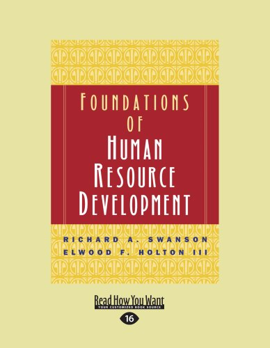 9781442961944: 1: Foundations of Human Resource Development