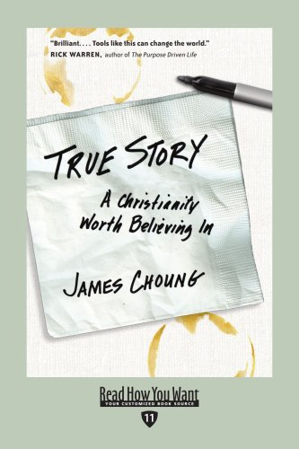 9781442964228: True Story (EasyRead Edition): A Christianity Worth Believing In