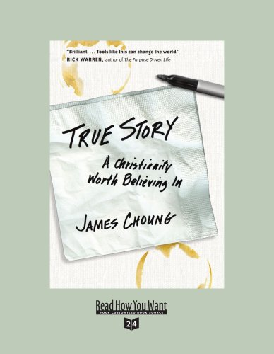 9781442965843: True Story (EasyRead Super Large 24pt Edition): A Christianity Worth Believing In