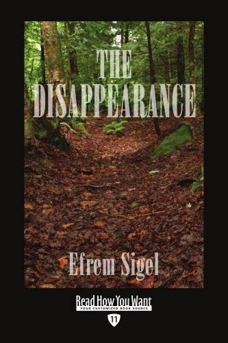 9781442968103: The Disappearance (Easyread Edition)