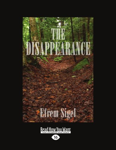 9781442968127: The Disappearance (Easyread Large Edition)