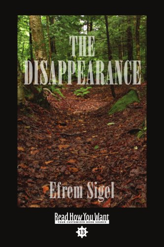 9781442969070: The Disappearance (Easyread Comfort Edition)