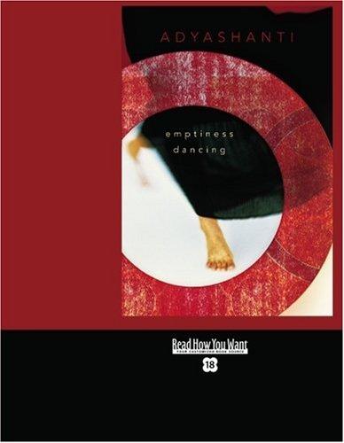 9781442973107: Emptiness Dancing (Easyread Super Large 18pt Edition)
