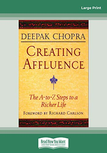9781442973534: Creating Affluence: The A-To-Z Steps to a Richer Life (EasyRead Large Edition)