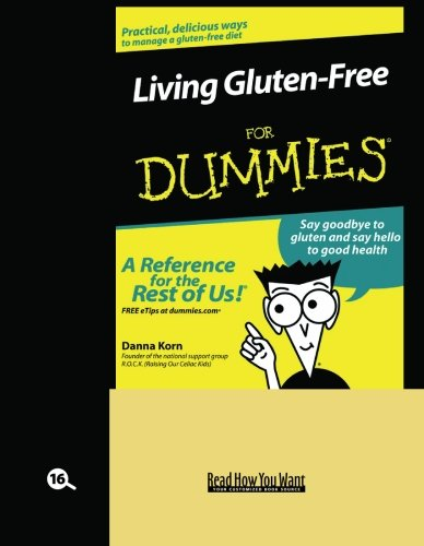 9781442974104: Living Gluten-Free for Dummies (Volume 1 of 2) (EasyRead Large Bold Edition)