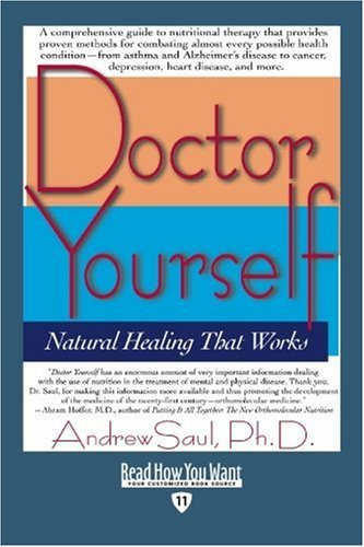 9781442975439: Doctor Yourself (EasyRead Edition): Natural Healing That Works
