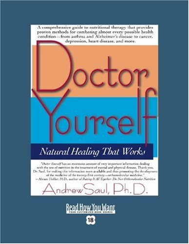 9781442975613: Doctor Yourself (Volume 2 of 2) (EasyRead Super Large 18pt Edition): Natural Healing That Works