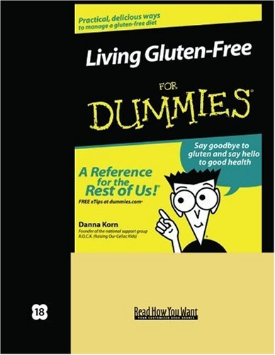 9781442978270: Living Gluten-Free for Dummies (Volume 2 of 2) (EasyRead Super Large 18pt Edition)