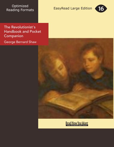 9781442979079: The Revolutionist's Handbook and Pocket Companion