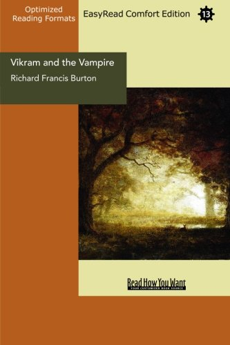 Vikram and the Vampire (EasyRead Comfort Edition) (9781442981225) by Francis Burton, Richard