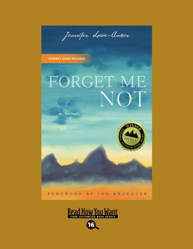 9781442993822: Forget Me Not: A Memoir: Easyread Large Bold Edition