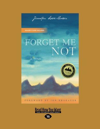 9781442993877: Forget Me Not: A Memoir