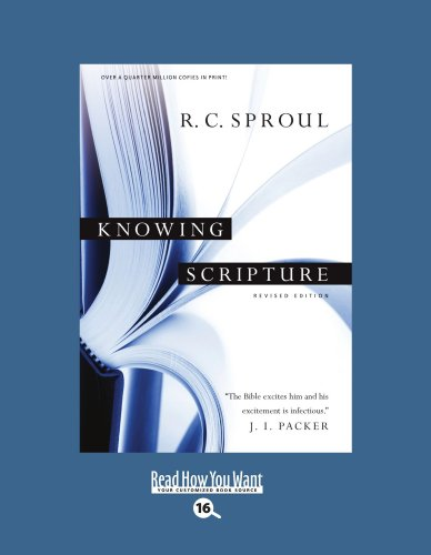 9781442996519: Knowing Scripture: Easyread Large Bold Edition
