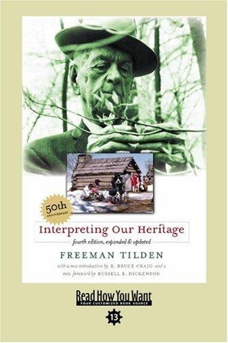 9781442997998: Interpreting Our Heritage (EasyRead Comfort Edition)