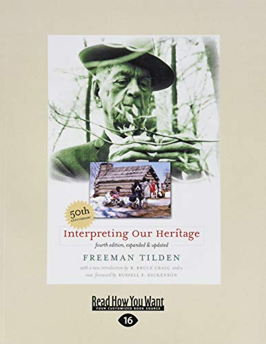 9781442998001: Interpreting Our Heritage: Easyread Large Edition