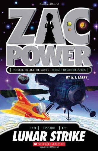 9781443107259: Zac Power: Lunar Strike