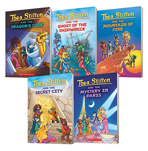9781443110211: Thea Stilton Collection: (Books 1-5) (Import)