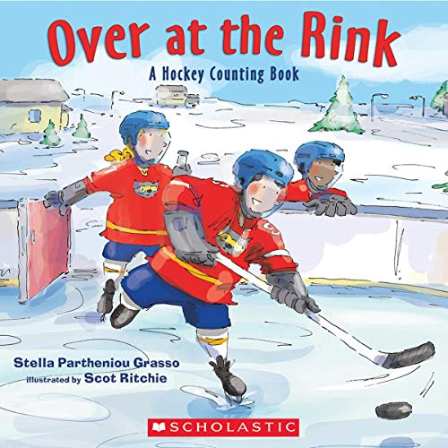 9781443113748: Over at the Rink: A Hockey Counting Book