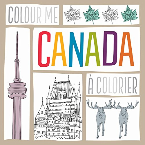 9781443157209: Colour Me Canada / Canada a Colorier (French Edition)