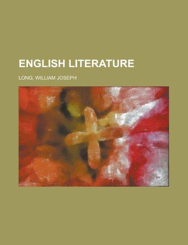 9781443221474: English Literature