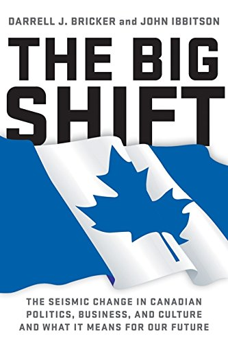 9781443416450: The Big Shift: The Seismic Change In Canadian Politics, Business
