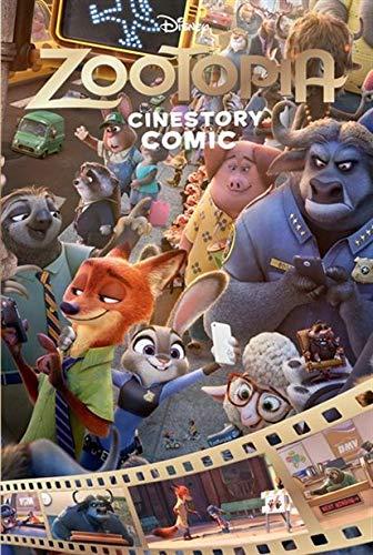 9781443450829: Zootopia Cinestory Comic (Disney)
