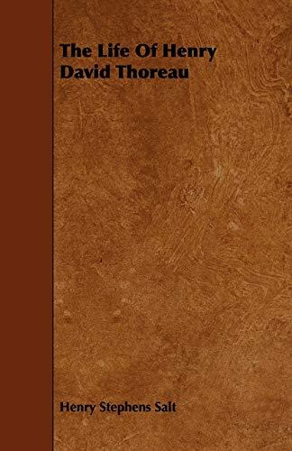 9781443712538: The Life Of Henry David Thoreau