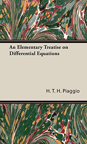 9781443720564: An Elementary Treatise on Differential Equations