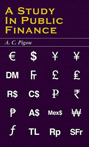9781443722766: A Study in Public Finance